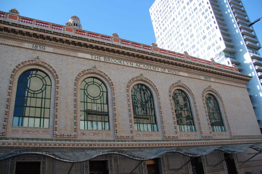 Exterior view of the Brooklyn Academy of Music